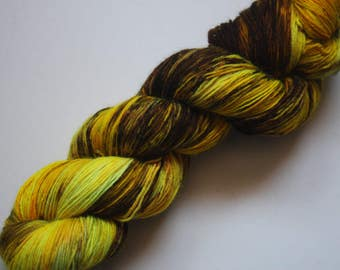 Sock - 100% British Bluefaced Leicester (superwash) yarn - Hornet