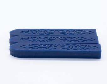 Sealing Wax | Color U - Navy Blue | 25 Colors, Stamp Wax, Seal Wax, competitable with Glue Gun