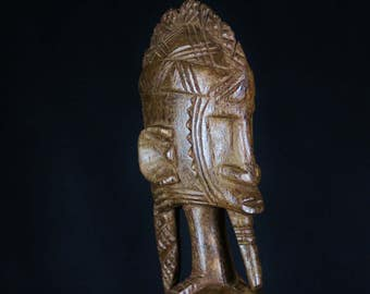old statue ancestor dignitary of the DOGON tribe from Mali