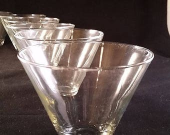 Stemless Martini Glasses Set of 6