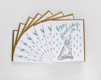 Happy Hooowlidays - Boxed Set of Eight
