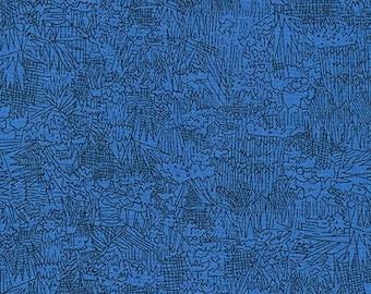 Green Wall in Surf,Fern,Blue Jay,Tangerine & Garden from Friedlander Collection Half Yard