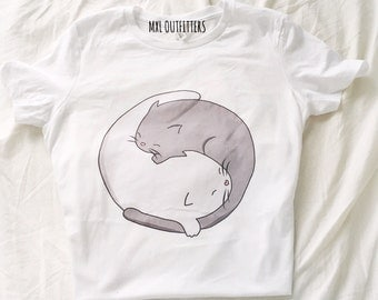Ying yang kittens T-Shirt