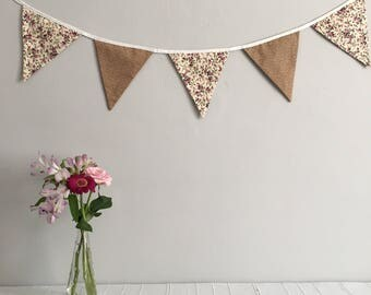 Floral Bunting | Party | Decoration | Home Decor | Wedding | SALE