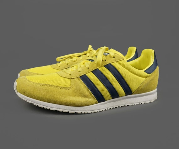 lovely Men s Adidas Sneakers Shoes Canary Yellow by VintageInquisitor 8dd16a82c01