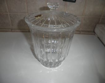 Vintage Bleikristall Crystal made in Germany candy jar with lid