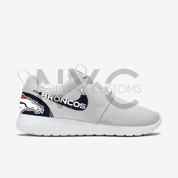 detailed look dc082 061f5 hot sale 2017 Denver Broncos 16  Nike Roshe One Run Custom Men by NYCustoms