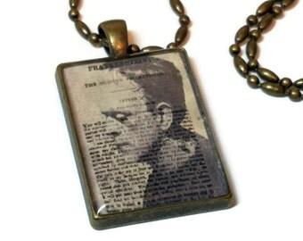 Frankenstein Horror Movie Necklace, Mary Shelley's Frankenstein ON SALE NOW