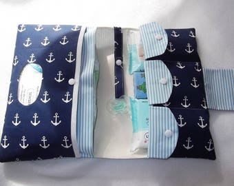 Diaper bag diaper bag blue anchor