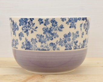 Lilac - Blue Pink cereal Bowl