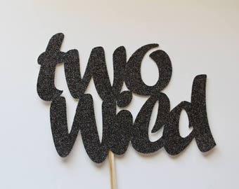 Two Wild Cake Topper, Two Wild Birthday, 2nd Birthday