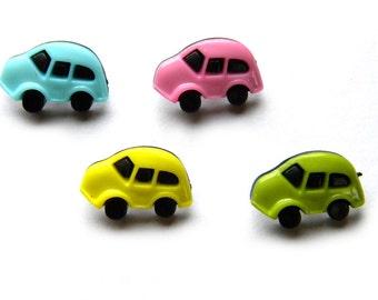 10 Car Buttons