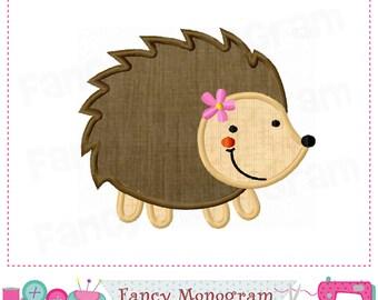 Hedgehog applique,Hedgehog design,Hedgehog embroidery,Animal applique,Machine Embroidery.-01