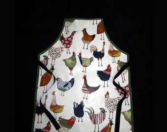 Adult PVC Funky Chicken Apron