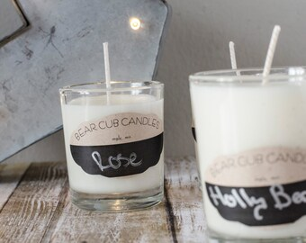 Soy Wax Candles // Little Guys!