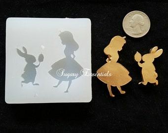 2 Pc. Alice in Wonderland Mold
