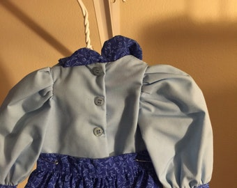 "Shirt and skirt Doll dress  for 18"" dolls"
