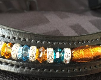 Custom Leather Browband