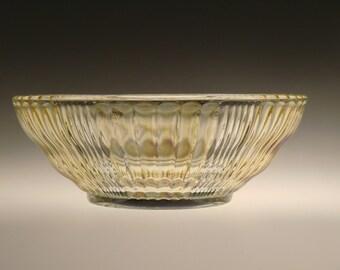 Czech Bohemian Iris Iridescent Art Glass Bowl Dish