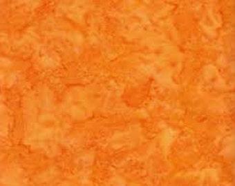 Be Colorful, Sunset Orange Batik made by Anthology Fabric
