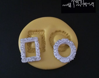 Tiny Frame Duo Silicone Mold