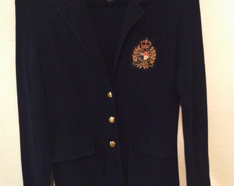 Ralph Lauren cotton blazer (small)