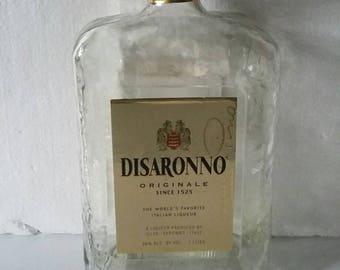 12  AMARETTO DISARONNO LIQUOR  /wine/beverage bottles 1 liter