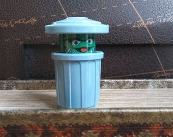 Vintage Fisher Price Little People Oscar the Grouch