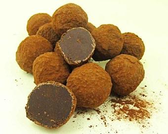 Truffes à la crème au chocolat noir 250 g
