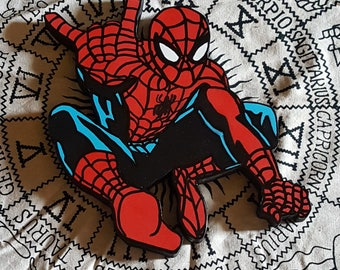 Marvel Spider-man wooden wall art