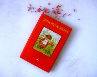 Little Bits of Wisdom  Hallmark Tiny Gift Book 1967