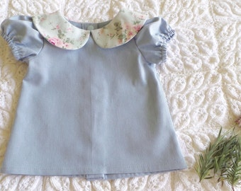 Spring Blooms Pleatie Top
