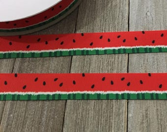 Watermelon Ribbon, Summer Ribbon