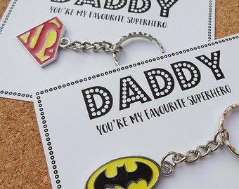 Special Daddy You're my Favourite Superhero gift - Batman / Superman