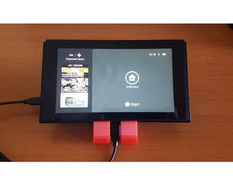 Nintendo Switch Charging Stand-3D Printed,Prop,Gift,Zelda,Mario Kart,Hands Free
