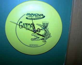 Innova Gator Golf Disc Clock