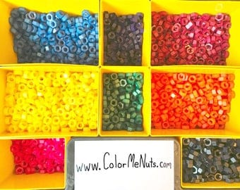 Colored Nylon Hex Nut