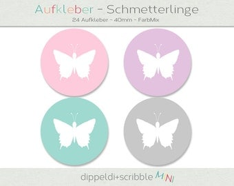 Label Butterfly