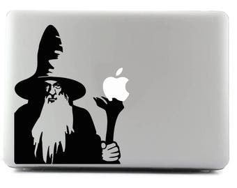 Gandalf, Custom sticker, Decal sticker, MacBook, Viny Sticker, Apple Sticker, Custom Sticker, MacBook Decal, MacBook Skin, Laptop Sticker
