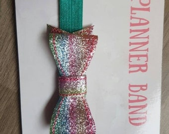 Rainbow Bow Planner Band