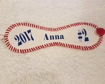 Leather Cuff Baseball Bracelet, Cuff, Bracelet, Baseball, Real Baseball Leather, Sports, Accessories