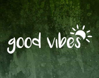 Good Vibes Decal   Adventure Decal   Beach Decal   Travel Decal   Adventure Decal   Good Vibes Sticker   Laptop Decal   Tumbler Decal  