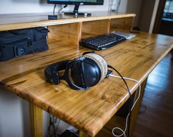 Modern Wood Desk - Custom