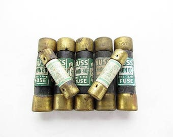 Vintage Buss Fuses / Steampunk, Mixed Media, Assemblage Supply