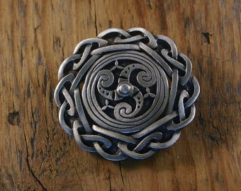 Classic Celtic Brooch, Small
