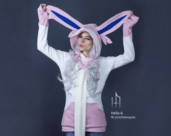 Sylveon inspired hoodie
