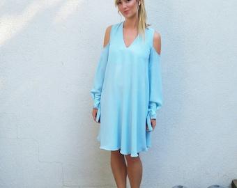 Light blue bridesmaid dress – Etsy