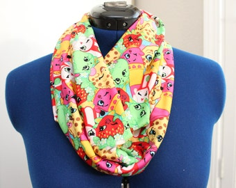Youth Shopkins Infinity Scarf