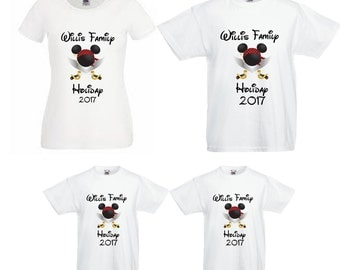 Disney Family Holiday/Vacation 2017 Family Name Adult/Child