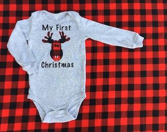 Boy Christmas Onesie Etsy